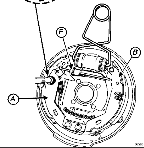 Tutorial schimbare cilindru saboti frana spate Corsa C Agrafa10
