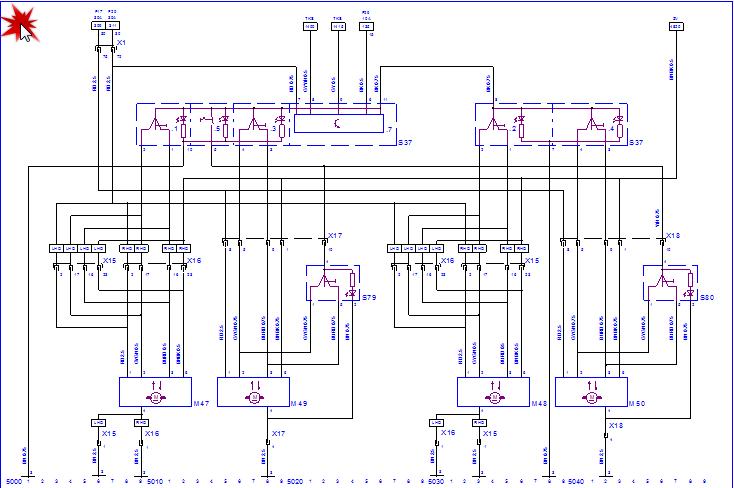 Tutorial schimbare geamuri manuale in electrice Vectra B Schema11