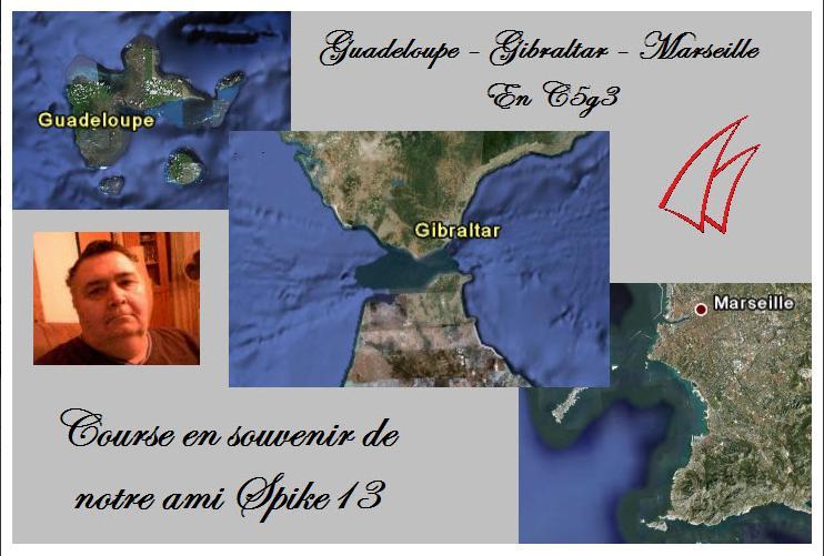Guadeloupe-Marseille / SPIKE13 Spike10