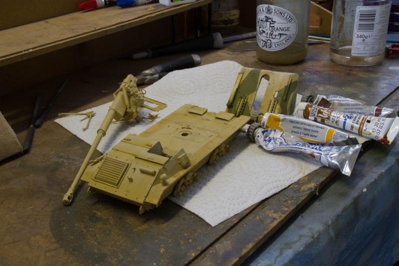 peinture - Waffenträger 88cm Pak 43 (Trump 1/35) - Page 2 Waffen30