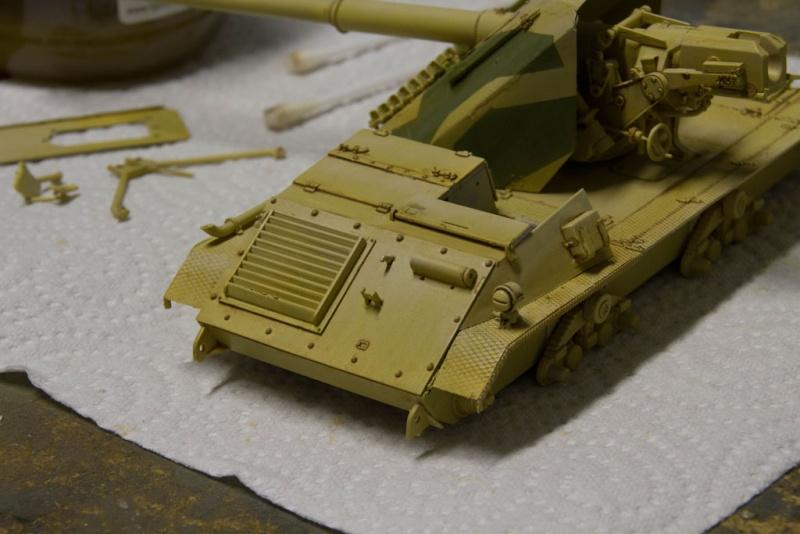peinture - Waffenträger 88cm Pak 43 (Trump 1/35) - Page 2 Waffen33