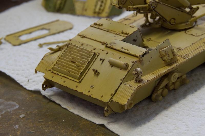 peinture - Waffenträger 88cm Pak 43 (Trump 1/35) - Page 2 Waffen35