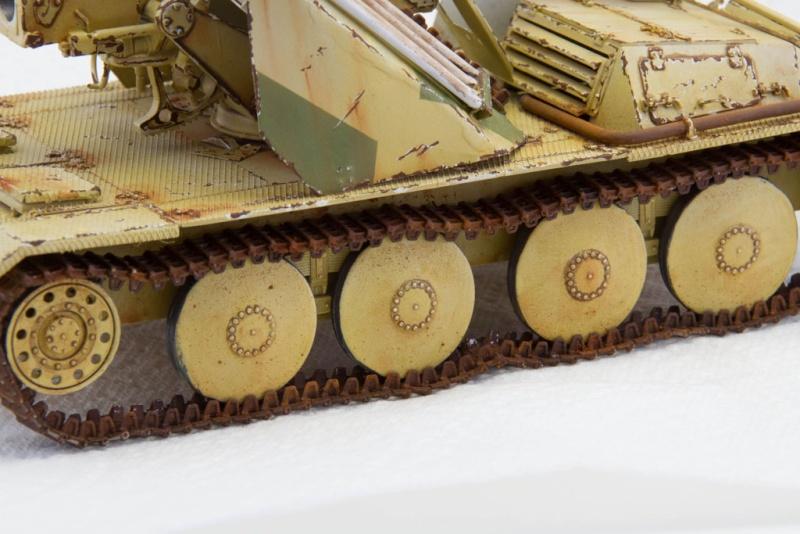 peinture - Waffenträger 88cm Pak 43 (Trump 1/35) - Page 3 Waffen46