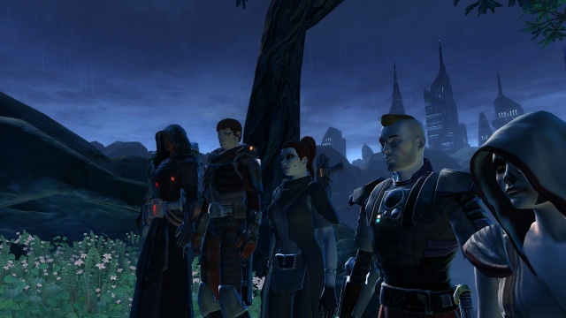 We are playing SWTOR!  Screen45