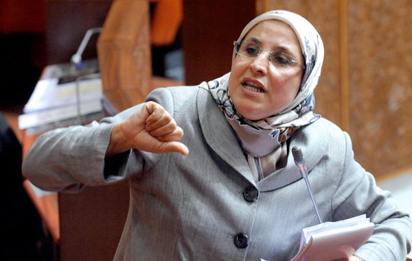 Bassima Hakkaoui à l'écoute des ONG Bassim13