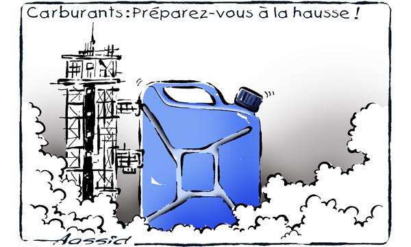 Carburants : préparez-vous à la hausse Carbur10