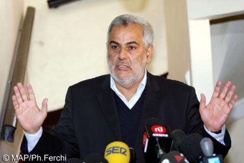 Selon Abdelilah Benkirane Le nombre de portefeuilles ministériels devrait se situer entre 25 et 30  Confer14