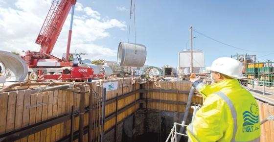 Environnement Construction d'un émissaire marin pour dépolluer la côte est Imager24