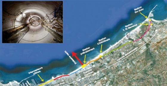 Environnement Construction d'un émissaire marin pour dépolluer la côte est Imager25
