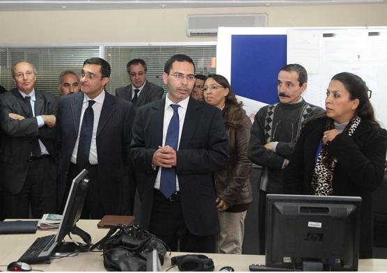 وزير الاتصال يزور الشركة الوطنية للإذاعة والتلفزة Info_166