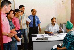 Elections Comment les listes seront révisées  P28_2210