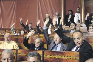 Parlement Ghellab en guerre contre l'absentéïsme  P33_5510