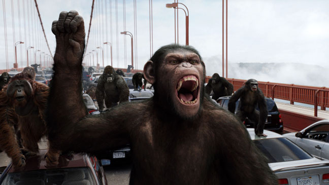 Rise of the Planet of the Apes (2011), Dawn of the Planet of the Apes (2014)  6arva10