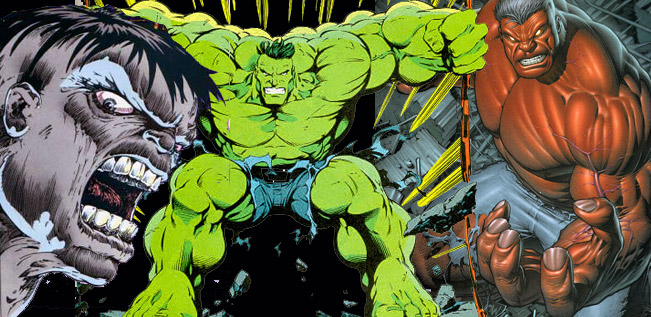 Hulk strip  Colors10
