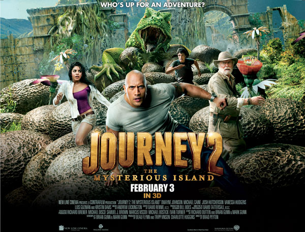 Journey to the Centre of the Earth (2008), Journey to the Center of the Earth 2: Mysterious Island (2012) Poster10
