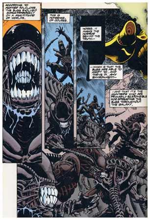 Aliens Versus Predator - AvP..stripovi Saltar10