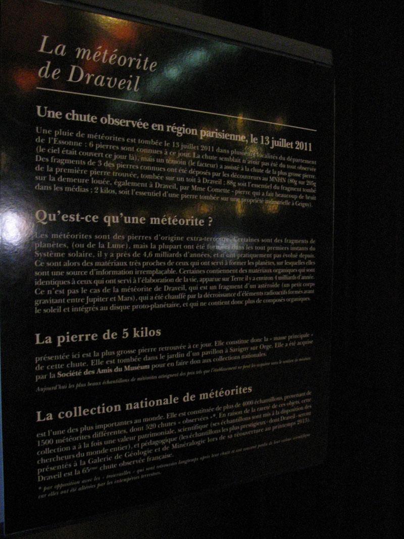 Météorite de Draveil Dravei12
