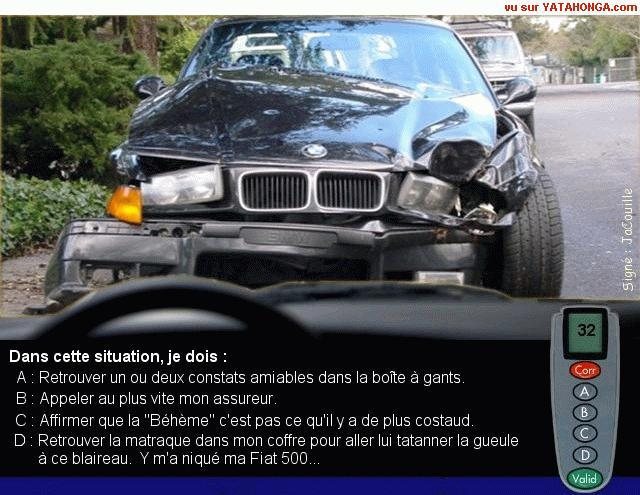 code de la route  (humour) 37770510