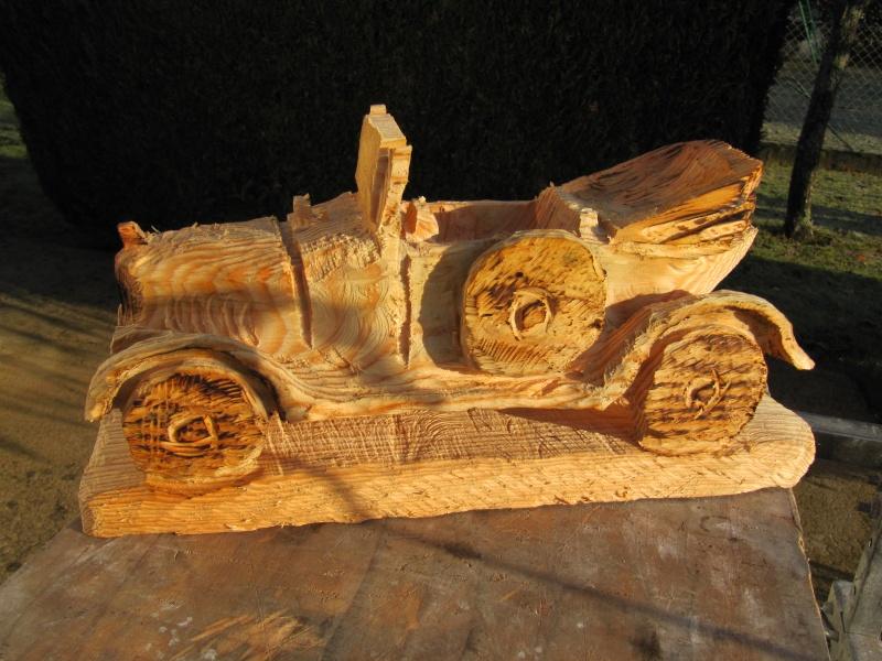 Sculpture 5HP en bois! Voitur10