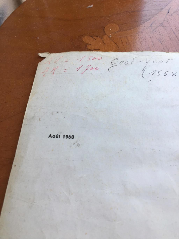Manuel de boite à gants 1960 64360210