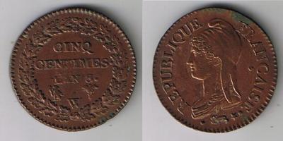 5 centimes dupré an 8 w(lille)  !!!! 18919310
