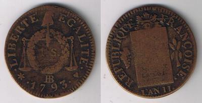 Cinq Centimes An 8 W 19142311
