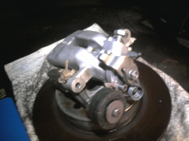 Mein GTO die Dauerbaustelle............. ;o( P1109011