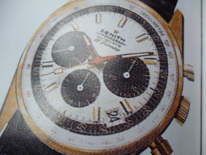 Zenith El Primero : Liste des Principaux El Primero Vintages de 1969 à 1986 ( Référence, Fabrication, Production d ) 00414