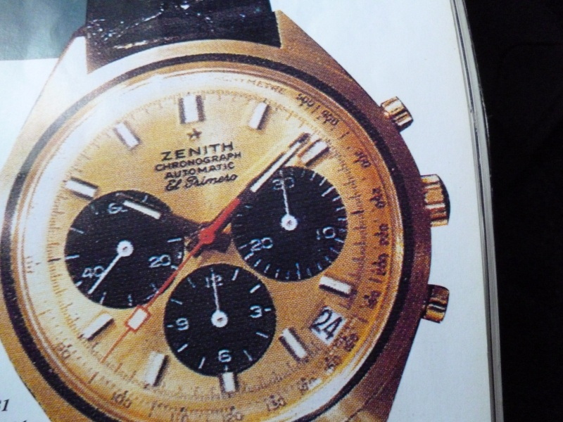 Zenith El Primero : Liste des Principaux El Primero Vintages de 1969 à 1986 ( Référence, Fabrication, Production d ) 00513