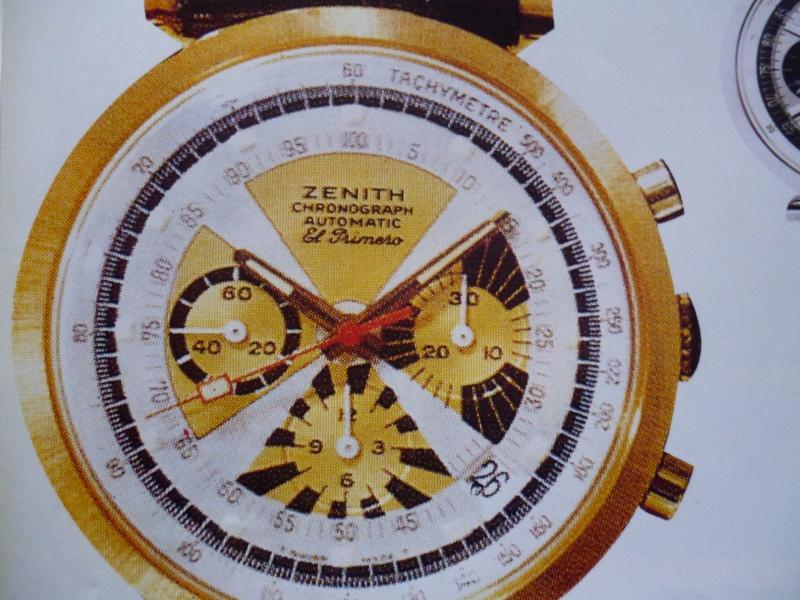 Zenith El Primero : Liste des Principaux El Primero Vintages de 1969 à 1986 ( Référence, Fabrication, Production d ) 00612