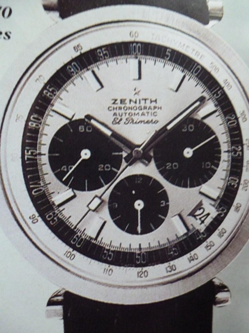 Zenith El Primero : Liste des Principaux El Primero Vintages de 1969 à 1986 ( Référence, Fabrication, Production d ) 00711