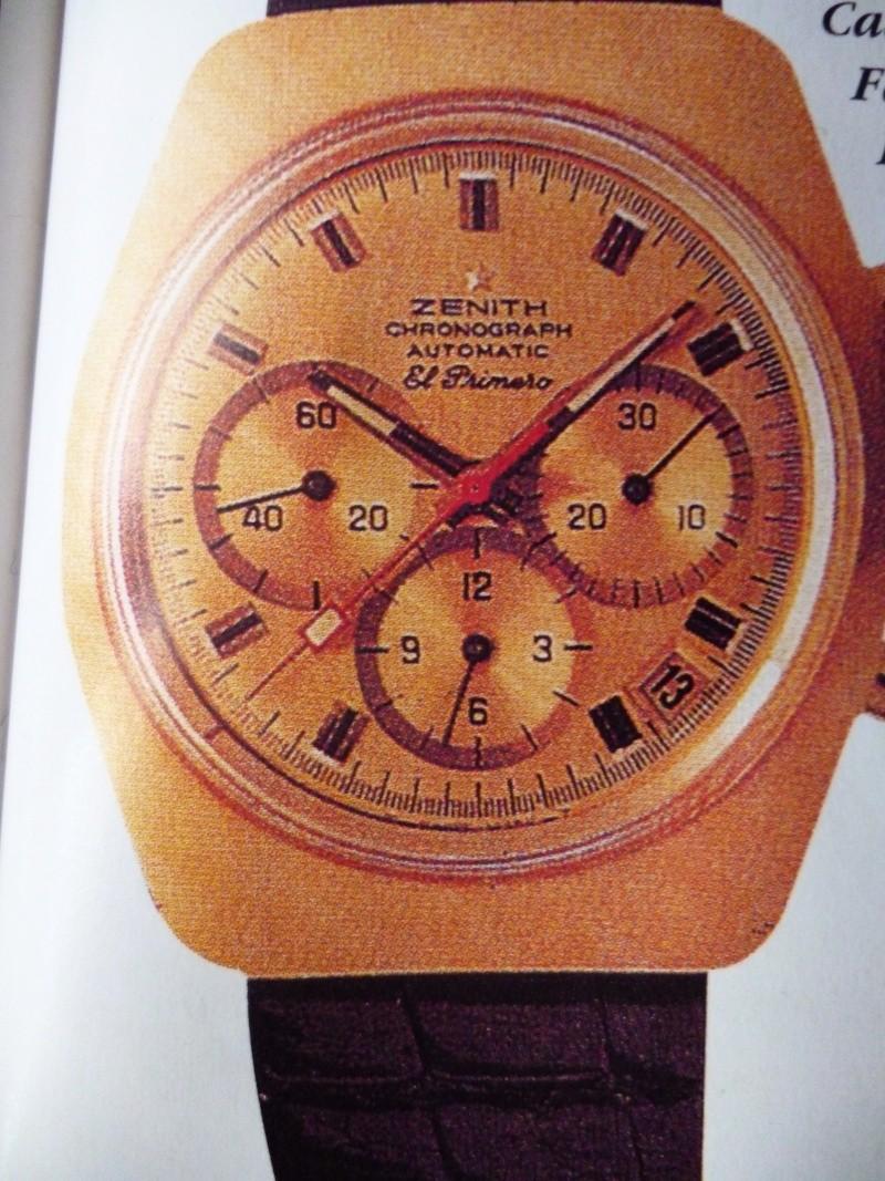 Zenith El Primero : Liste des Principaux El Primero Vintages de 1969 à 1986 ( Référence, Fabrication, Production d ) 01311