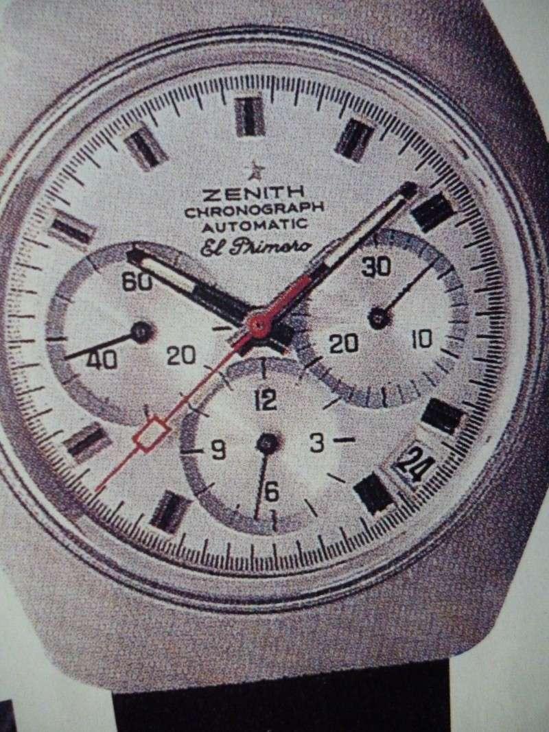 Zenith El Primero : Liste des Principaux El Primero Vintages de 1969 à 1986 ( Référence, Fabrication, Production d ) 01512