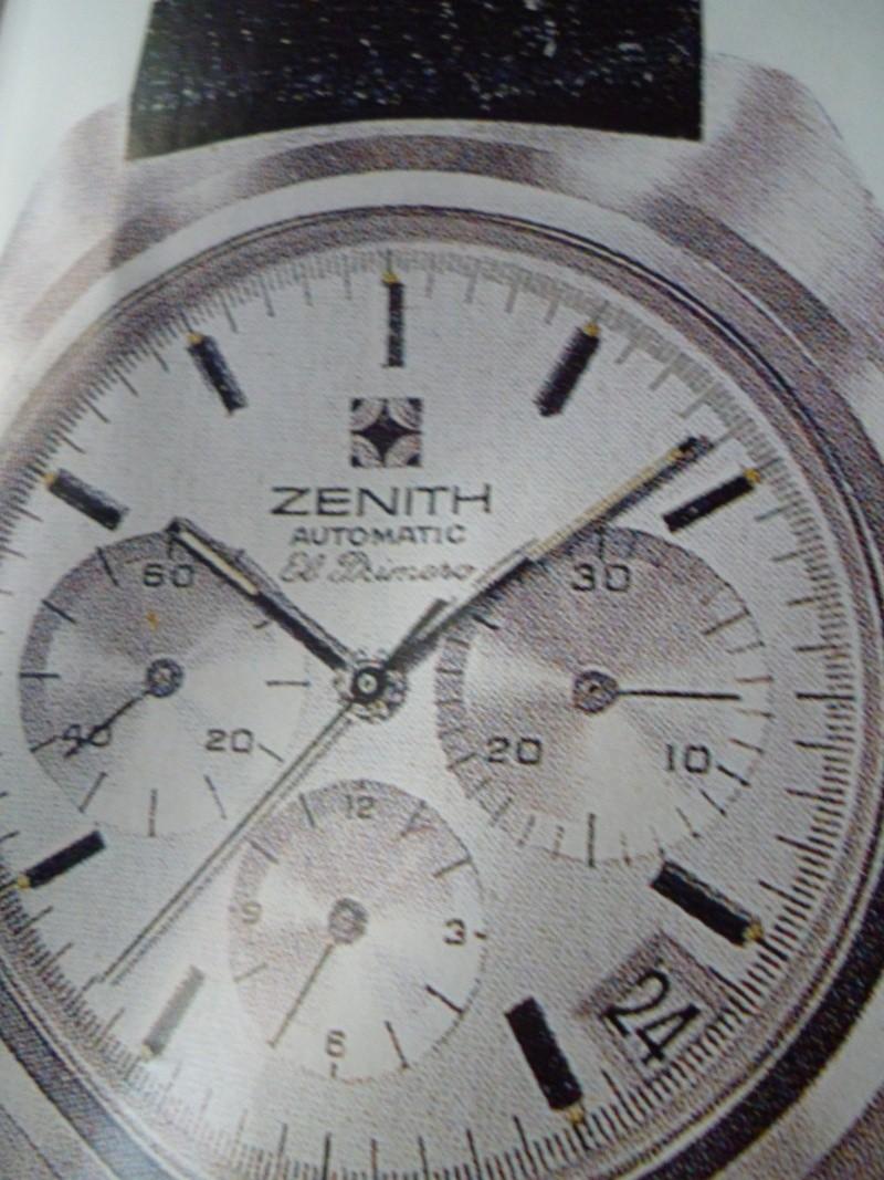 Zenith El Primero : Liste des Principaux El Primero Vintages de 1969 à 1986 ( Référence, Fabrication, Production d ) 01710