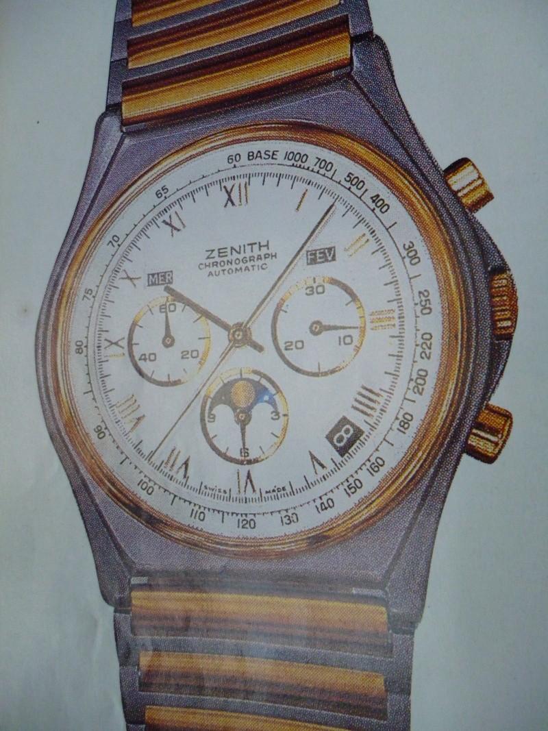Zenith El Primero : Liste des Principaux El Primero Vintages de 1969 à 1986 ( Référence, Fabrication, Production d ) 01910