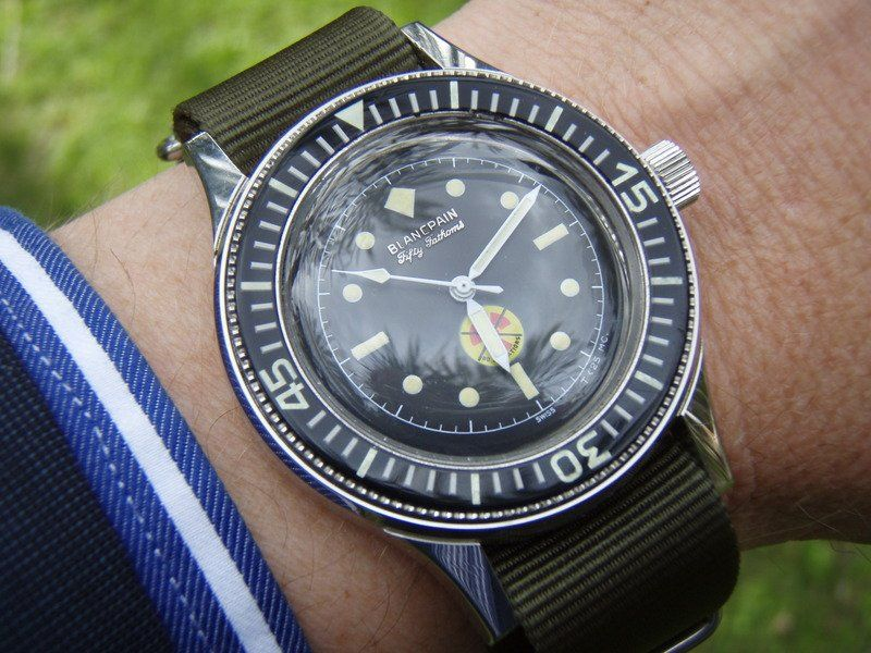 Blancpain Fifty Fathoms : Histoire 10
