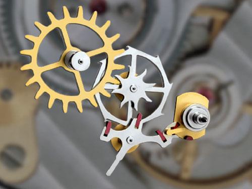 Qu'est ce que c'est exactement le système d'échappement dans le mouvement d'une montre? 12576010