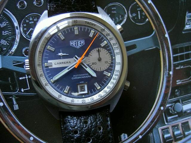 Chronographe Heuer, calibre 11 13car110