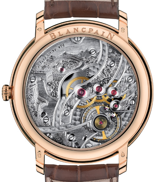 Les plus beaux calibres de montres mécaniques vintages et contemporains du monde ... Blancp10