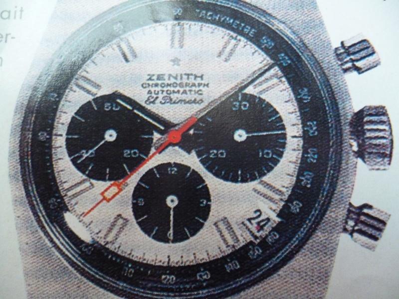 Zenith El Primero : Liste des Principaux El Primero Vintages de 1969 à 1986 ( Référence, Fabrication, Production d ) El_pri10