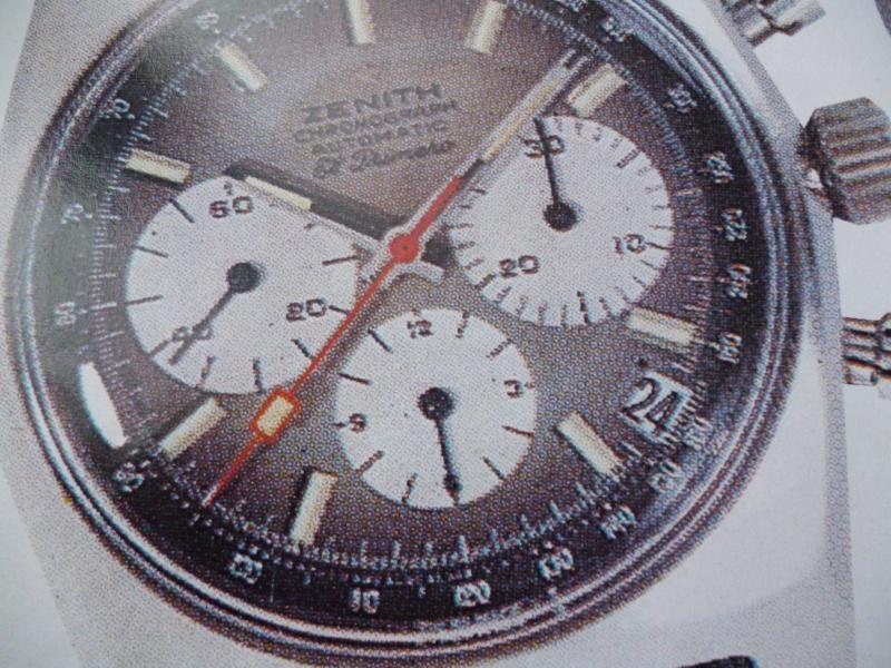 Zenith El Primero : Liste des Principaux El Primero Vintages de 1969 à 1986 ( Référence, Fabrication, Production d ) El_pri11