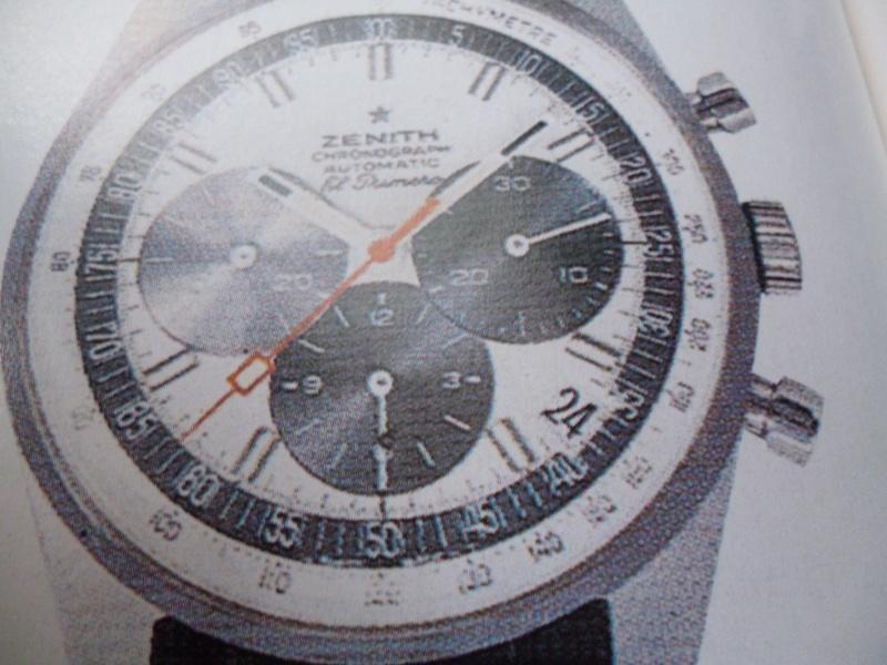 Zenith El Primero : Liste des Principaux El Primero Vintages de 1969 à 1986 ( Référence, Fabrication, Production d ) El_pri12