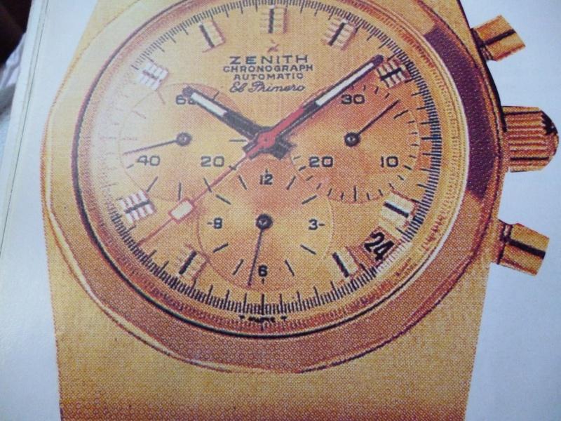 Zenith El Primero : Liste des Principaux El Primero Vintages de 1969 à 1986 ( Référence, Fabrication, Production d ) El_pri19