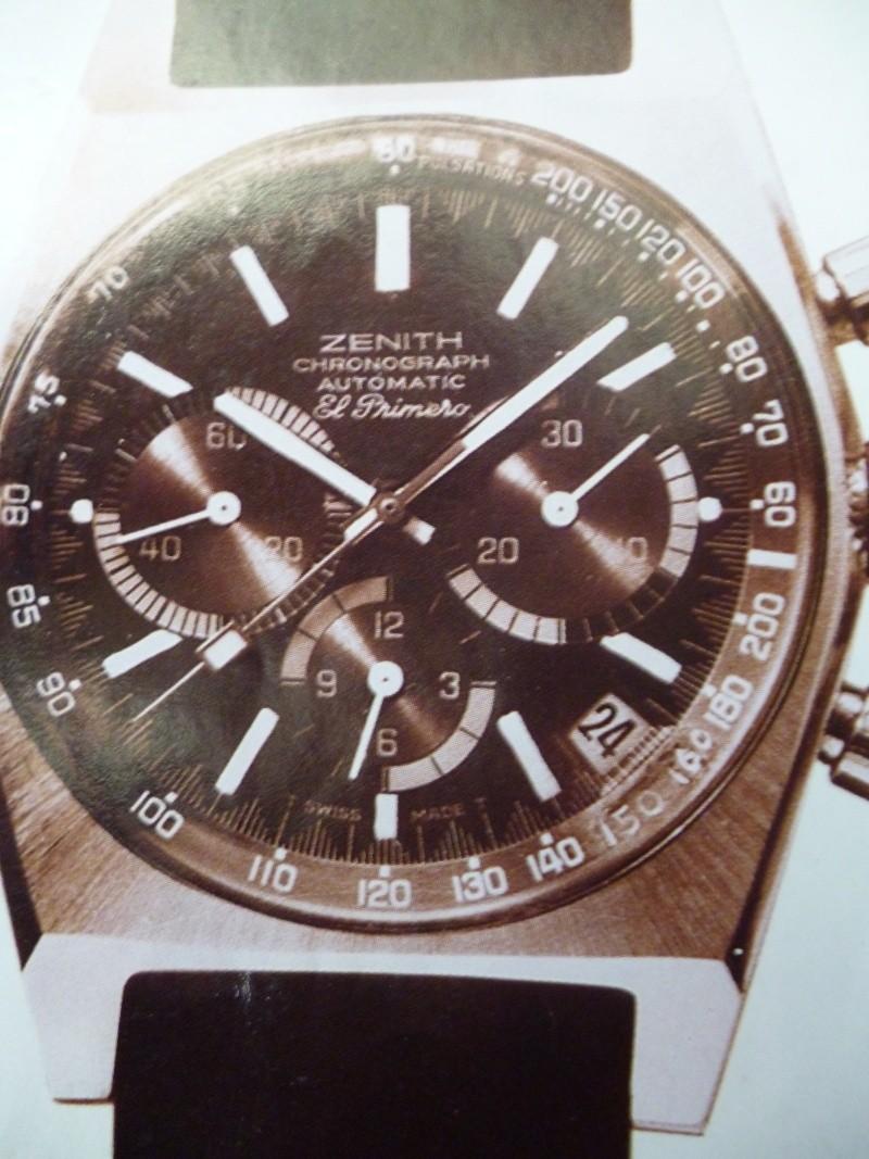 Zenith El Primero : Liste des Principaux El Primero Vintages de 1969 à 1986 ( Référence, Fabrication, Production d ) El_pri25