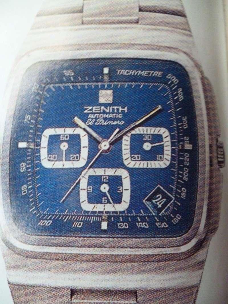 Zenith El Primero : Liste des Principaux El Primero Vintages de 1969 à 1986 ( Référence, Fabrication, Production d ) El_pri26