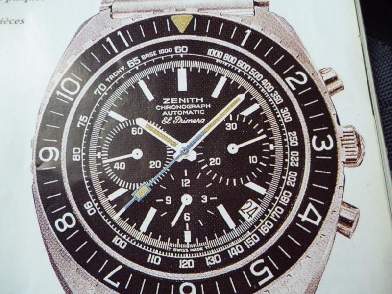 Zenith El Primero : Liste des Principaux El Primero Vintages de 1969 à 1986 ( Référence, Fabrication, Production d ) El_pri28