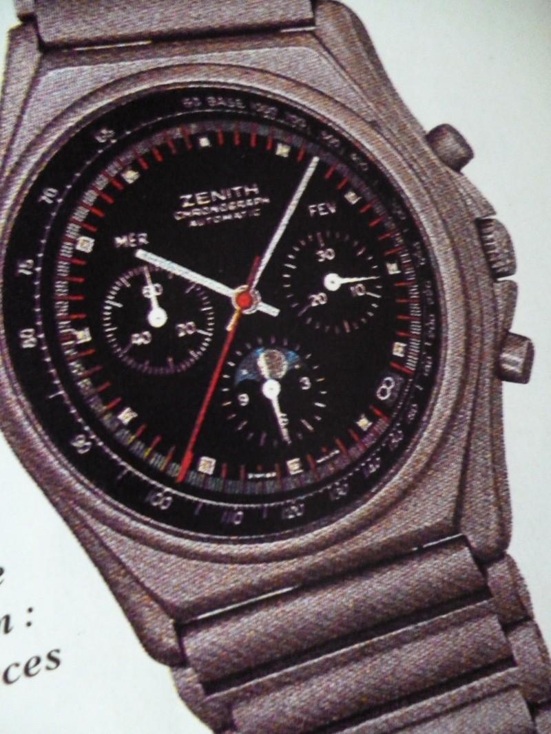 Zenith El Primero : Liste des Principaux El Primero Vintages de 1969 à 1986 ( Référence, Fabrication, Production d ) El_pri29