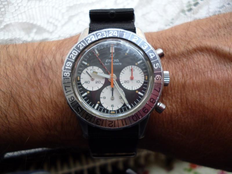 La montre préférée de votre collection, une tite photo svp qu'on mire Enicar14