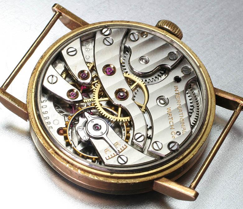 Les plus beaux calibres de montres mécaniques vintages et contemporains du monde ... Iwccal10