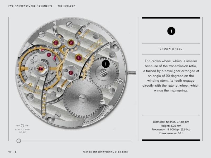Les plus beaux calibres de montres mécaniques vintages et contemporains du monde ... - Page 2 Iwcgea10